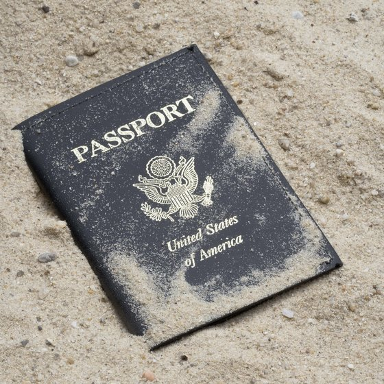 You must always know where your passport is.
