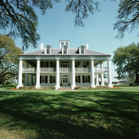 Many of Louisiana's plantations are maintained as museums, open to historically-minded visitors.
