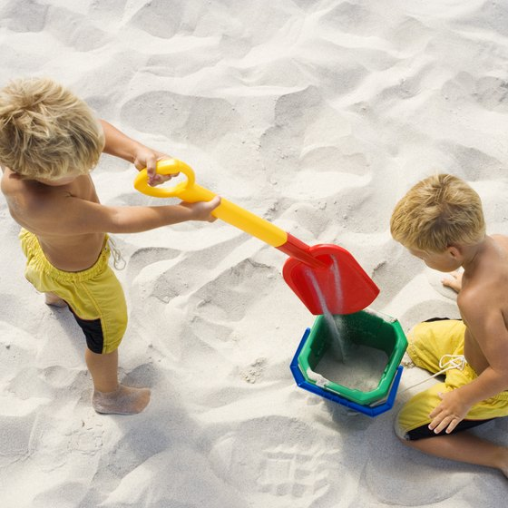 Pack up the kids and the sand toys before heading off to Virginia Beach or Myrtle Beach.