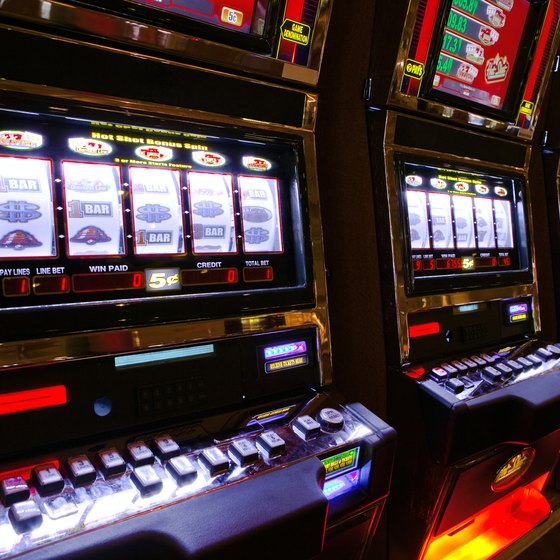 Cherokee Casino has many kinds of slot machines.