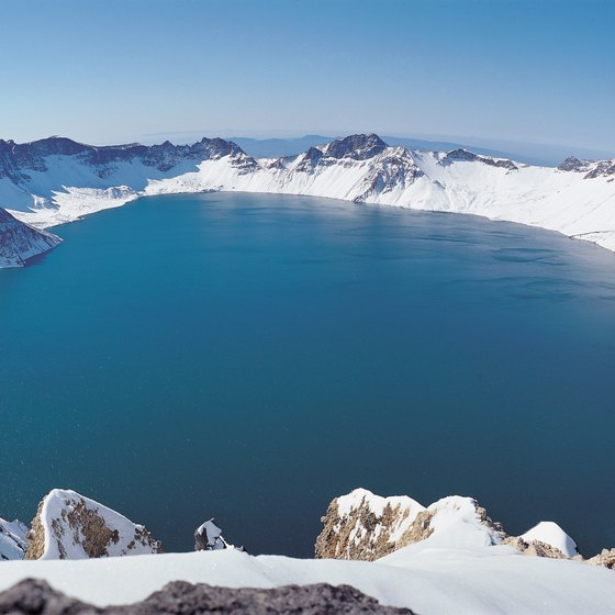 Crater Lake is in south central Oregon.