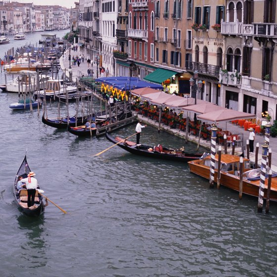 Trains arriving at Santa Lucia deposit passengers at the start of the Grand Canal.
