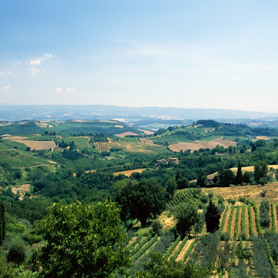 Stay on an Italian farm in the countryside to escape the tourist crowds.