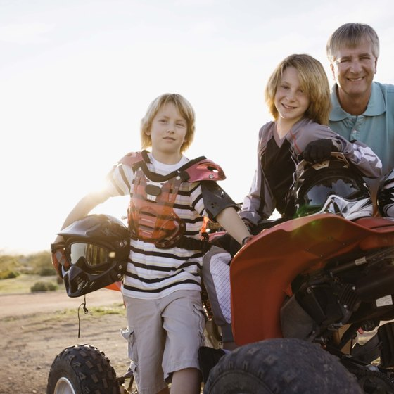 Kids as young as 12 can ride ATVs in Ohio with parental supervision.