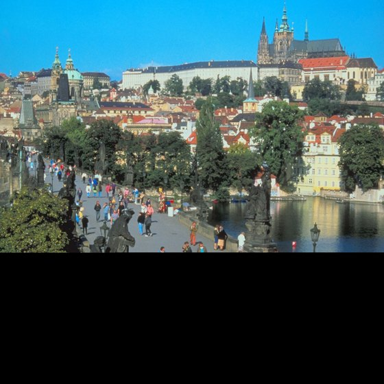 Prague Castle is one of the city's highlights.