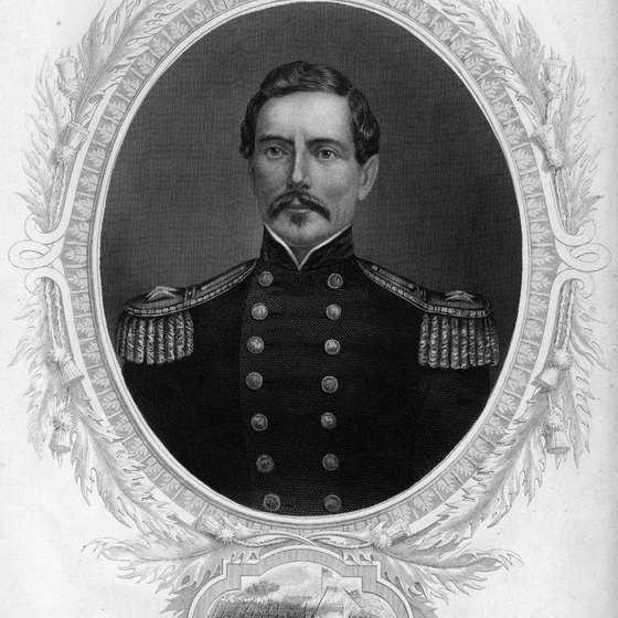 Gen. P.G.T. Beauregard led Southern troops at the Battle of Shiloh.