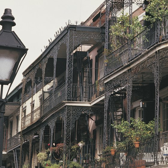 New Orleans' bustling French Quarter offers a handful of nightclubs for teenagers.