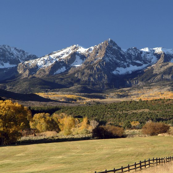 From the Rockies to the meadows, Colorado's scenery is beautiful.