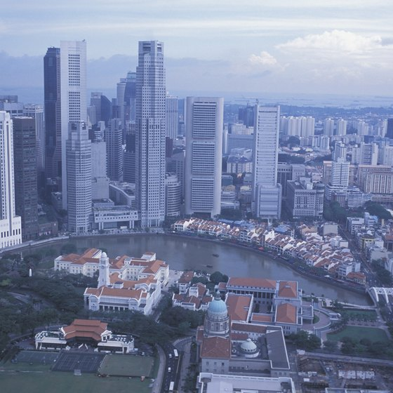 The Republic of Singapore's president rules a city-state situated on an island.