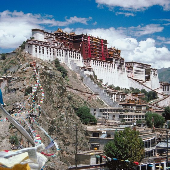 The Potala palace is a place of immense spiritual importance to TIbetans.