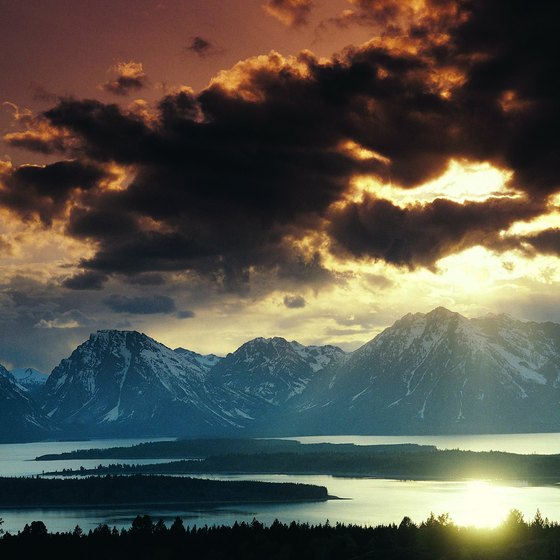 Jackson Lake at Grand Teton National Park is open for water activities.