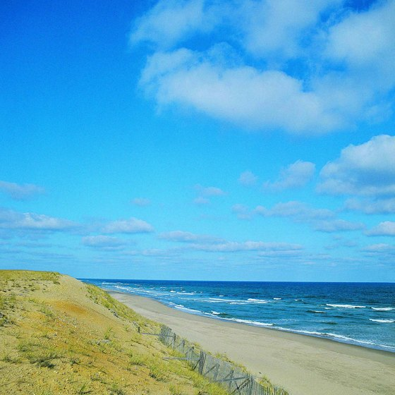 Cape Cod stretches 65 miles into the Atlantic Ocean.