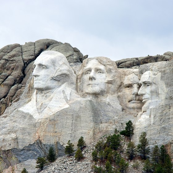Keystone, South Dakota, provides services for travelers to Mount Rushmore.