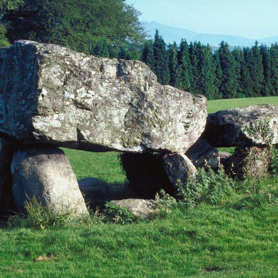 Many standing stones in Wales date to the Bronze Age.