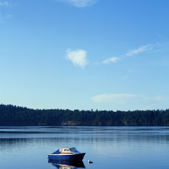 The San Juan Islands deliver serenity and scenery.