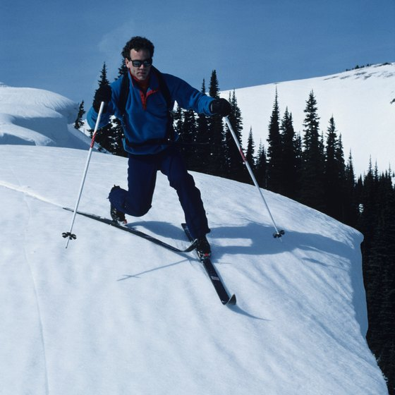 Crystal Mountain is Washington's largest ski area.