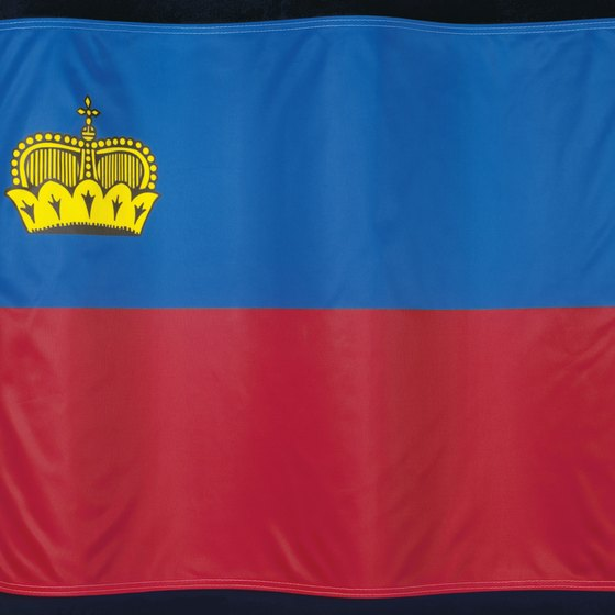 The colors in Liechtenstein's flag have been consistent since 1921, but reach further back into history.