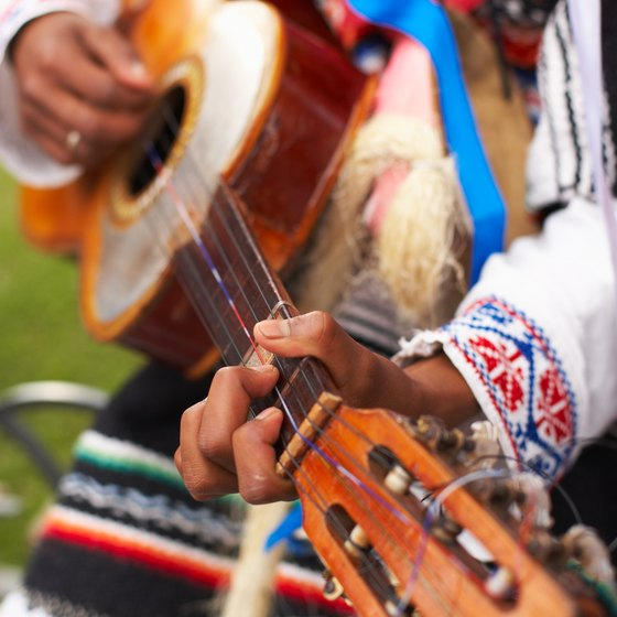 Many styles of music are heard in Mexico.