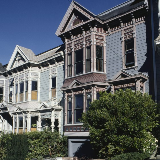 The Castro neighborhood is residential and urban.