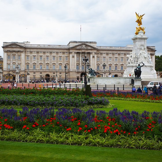 Travelers spending a night in London might want to visit Buckingham Palace.
