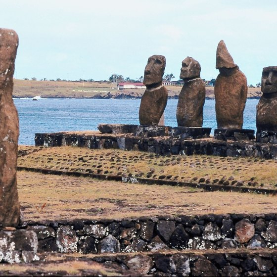 Scholars believe Rapa Nui's moai statues represent protective ancestral spirits.