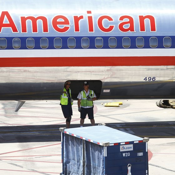 American Airlines' baggage limits and fees depend on the country to which you're traveling.