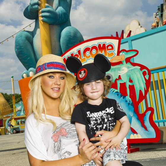 Even Christina Aguilera enjoys vacations at Walt Disney World.