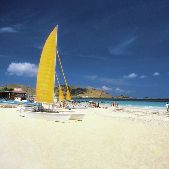 St. Martin is packed with beaches.