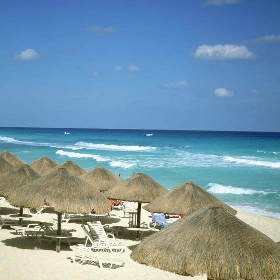 Cancun is world-renowned for its white sandy beaches