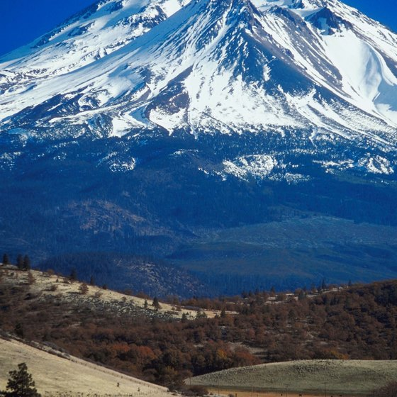 Mt Shasta Offers A Great Focal Point In Northern California