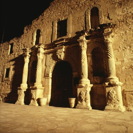 The Alamo is one of the most famous historic sites in Texas.