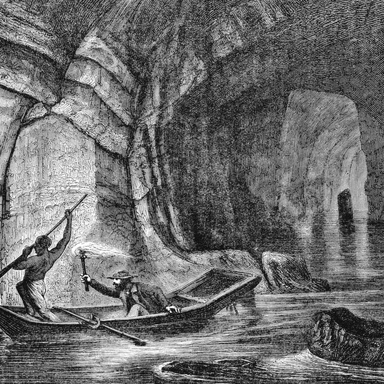 Black Americans explored the caves and served as tour guides in the early years.