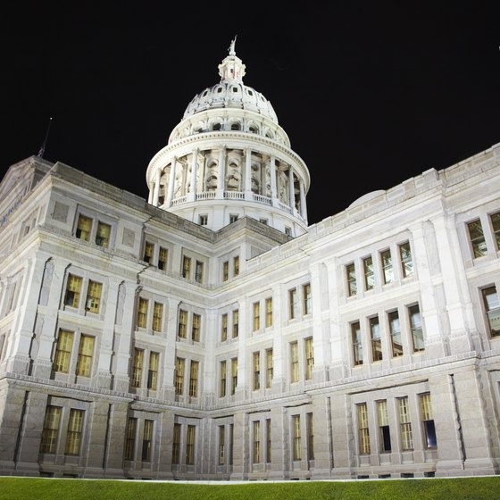 The Texas State Capitol is the largest state capitol in the country.