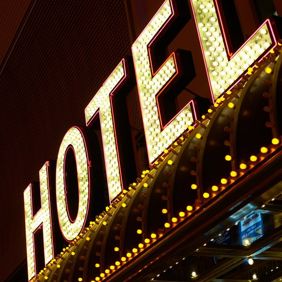 More than 124,000 hotel rooms are in Las Vegas.