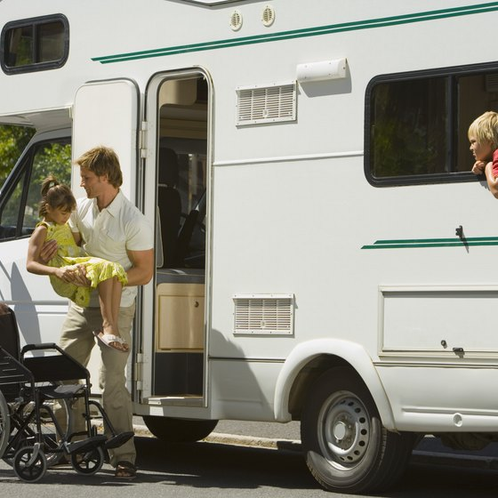 Oklahoma offers several convenient RV sites along I-40, which crosses the state from west to east