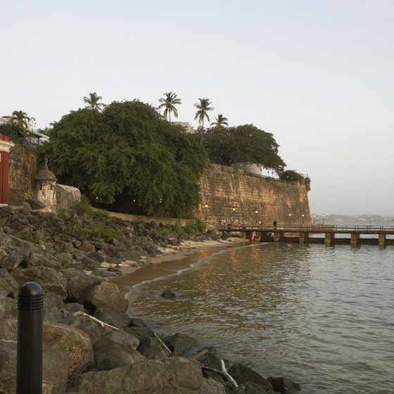 You'll find lots of history to explore in Puerto Rico.