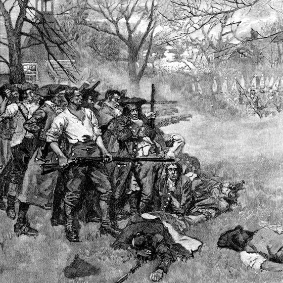 To this day, nobody knows who fired the first shot at Lexington.
