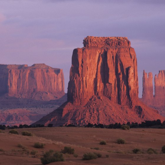 Monument Valley is among the many scenic places in the American West.
