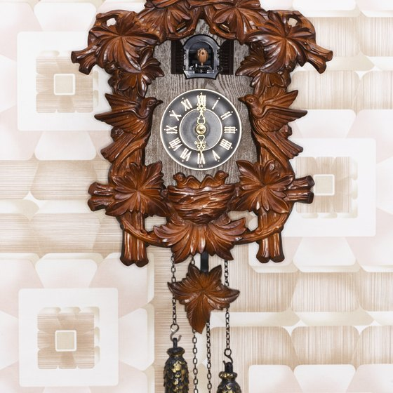 Cuckoo clocks were invented in the 18th-century Black Forest.