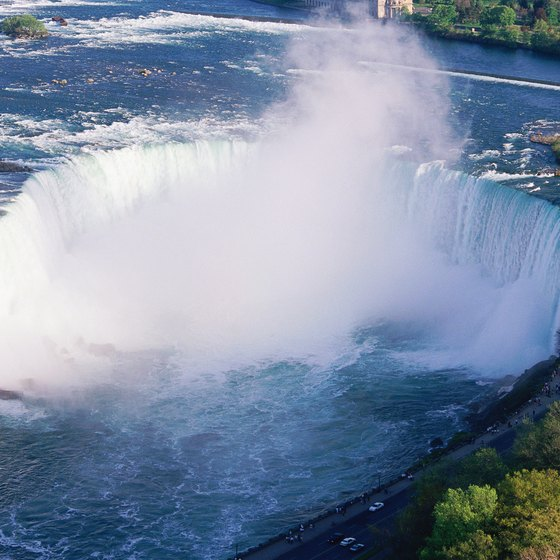 Four million cubic feet per minute tumble over Niagara Falls.