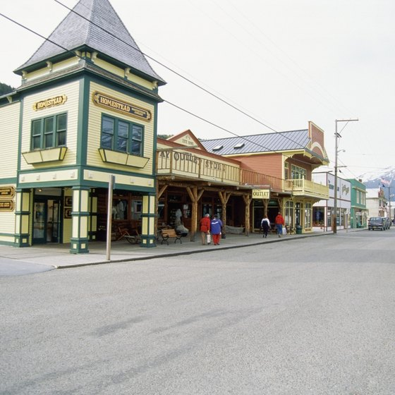 Skagway boasts a hstorical town and plenty of wildlife.