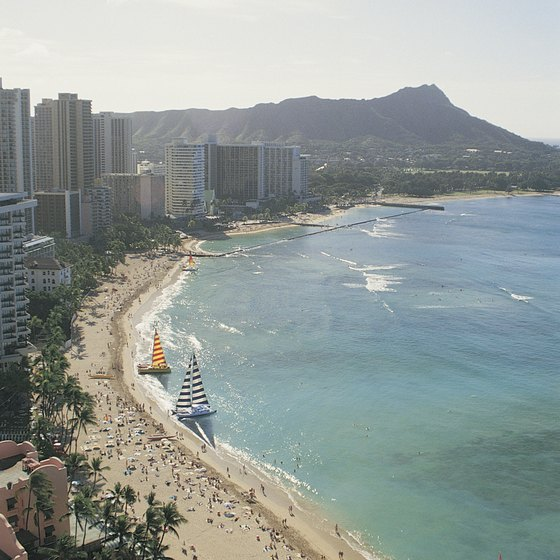 Waikiki is Oahu's most well-known beach.