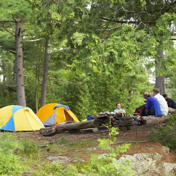 Camping creates great memories, whether in the woods or on the beach.