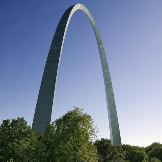 A visit to the Gateway Arch is just one of many field trip options in St. Louis.