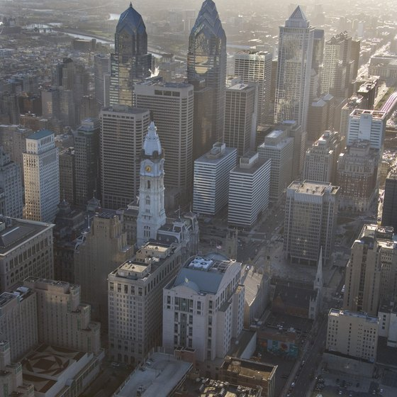 Skydiving lets visitors see Philadelphia from the air.