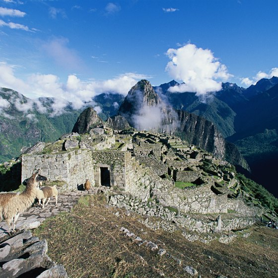 Trekking through the Andes includes following in the footsteps of the ancient Incas.