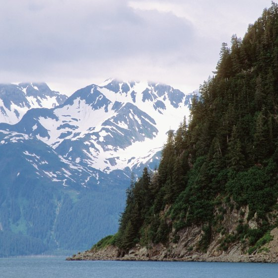 Cruise ships offer a fine view of the Inside Passage.