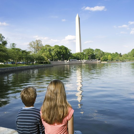 You'll learn about the nation's history in D.C.