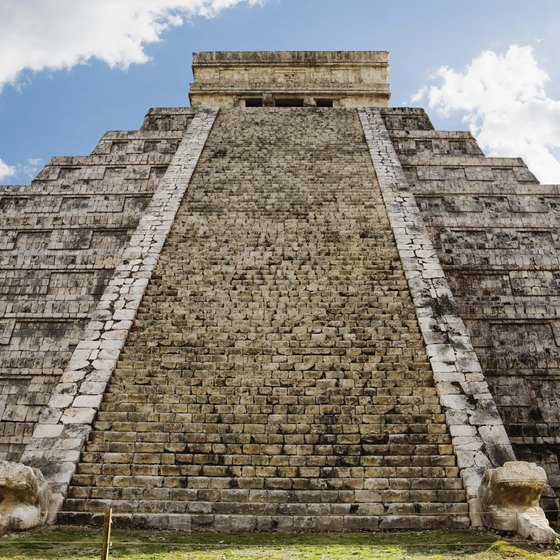 Cancun is known the world over for its compelling Mayan ruins, such as the great Pyramid of Kukulcan.