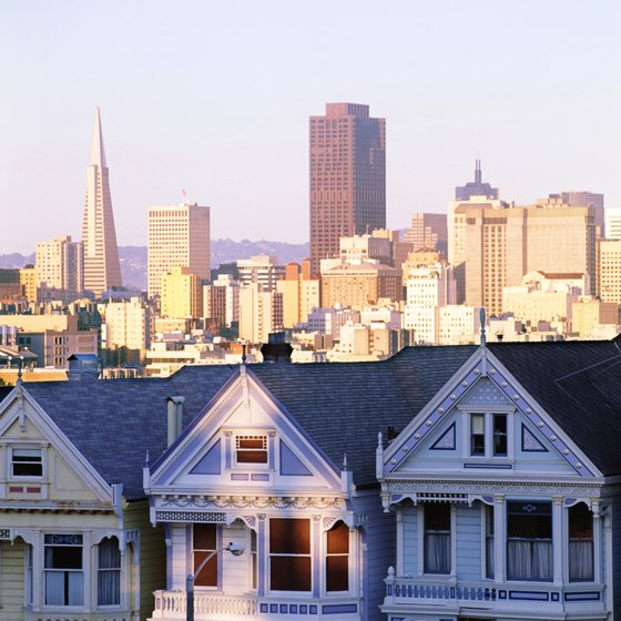 San Francisco hostels are close to major attractions.